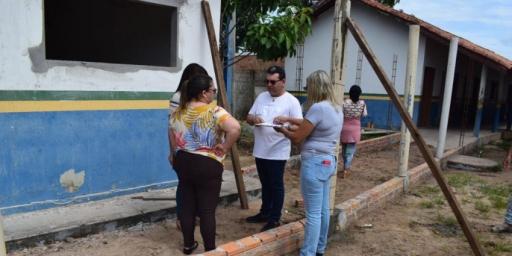 Prefeitura de Redenção investe na infraestrutura das escolas