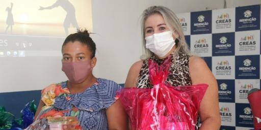 Mães recebem a atenção especial da Assistência Social através da oficina do PAIF