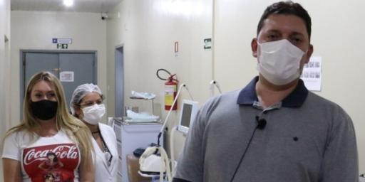 HOSPITAL IRACI ZERA NÚMERO DE PACIENTES INTERNADOS COM COVID-19