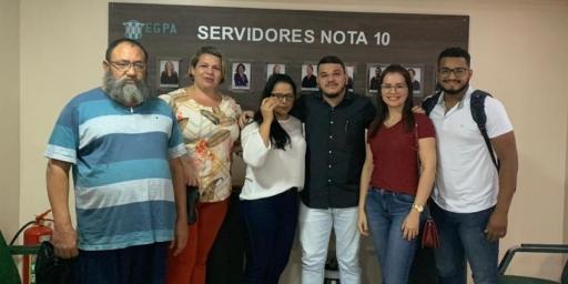 Equipe técnica da SEMEC e Administração da Prefeitura de Redenção participam de treinamento em Belém