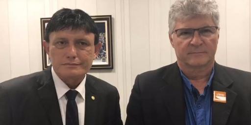 Iavé convida secretário da Sedeme para prestigiar Expo 2019