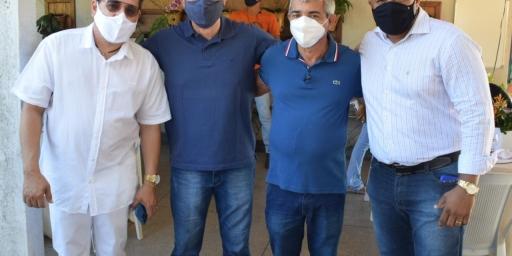 Joaquim Passarinho anuncia emendas parlamentares para Redenção