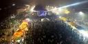 Milhares de pessoas compareceram para festejar a virada do ano em Redenção
