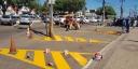 Sinalização nas pistas de rolamento oferece trânsito mais seguro