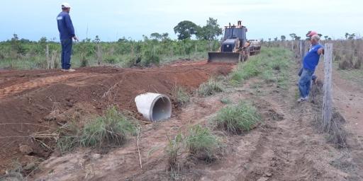 Prefeitura continua com apoio ao desenvolvimento na zona rural