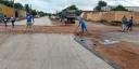 Ruas da cidade seguem sendo pavimentadas