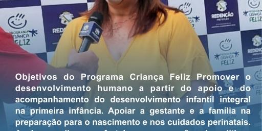 PROGRAMA CRIANÇA FELIZ COMPLETA 2 ANOS
