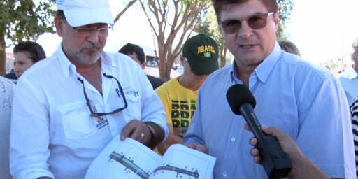 Av. Araguaia será completamente asfaltada