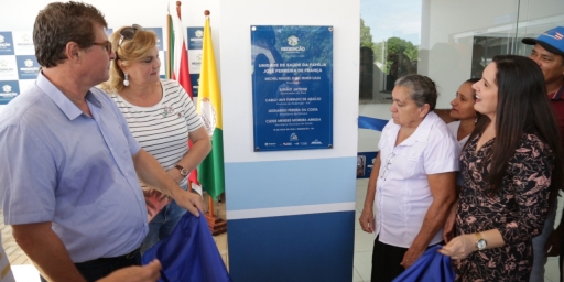 Prefeitura entrega Unidade de Saúde no setor Planalto