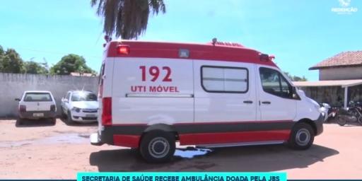 JBS doa ambulância para a Prefeitura de Redenção