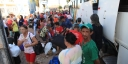 Caravana de idosos de Redenção presente no festejo do Senhor do Bonfim