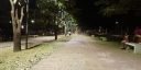Praça do Bosque ganha iluminação em LED