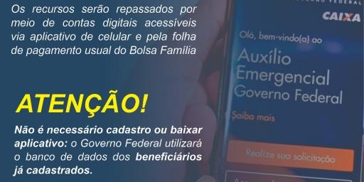 Novo Auxílio Emergencial para trabalhadores informais e beneficiários do Bolsa Família
