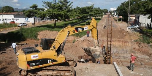 Obras de canalização do Córrego Suprema seguem em ritmo acelerado