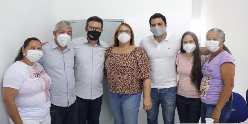 SECRETARIA INAUGURA DUAS UNIDADES DE SAÚDE NA ZONA RURAL DE REDENÇÃO