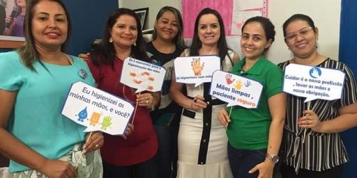 Hospital Iraci Machado realiza Dia do Controle de Infecção Hospitalar