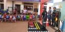 DMTT e Secretaria de Educação realizam palestras sobre educação no trânsito para crianças