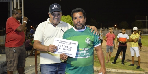 HALLEY É CAMPEÃO INVICTO DA COPA VANDERLEI COIMBRA DE FUTEBOL 2019