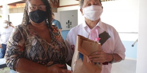 As comemorações juninas chegam ao Centro de Acolhimento a Pessoa Idosa